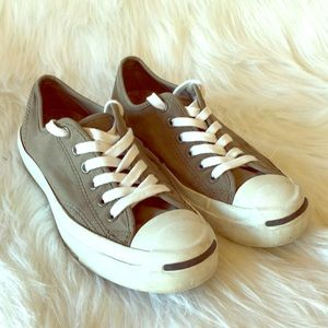 CONVERSE Jack Purcell gray shoes